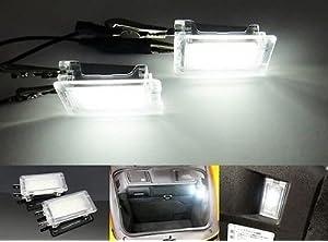 LEDIN 2x LED Luggage Compartment Hood Light Porsche 987 Cayman Boxster 996 997 Carrera
