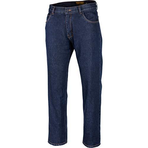 Cortech The Standard Jean Men's Street Motorcycle Pants - Midnight Blue / 34X32 ()