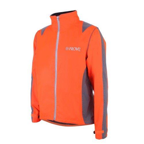Proviz Nightrider Mens Jacket, Safety Orange, Medium