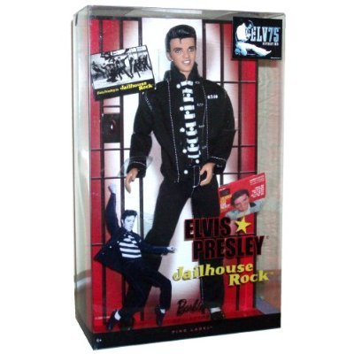 Mattel Year 2009 Barbie Collector 50th Anniversary Pink Label Series 12 Inch Doll - ELVIS PRESLEY in Jailhouse Rock (R4156)