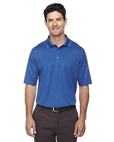 Athletic Pique Sport Shirt - Core 365 Men's Origin Performance Piqué Polo, Large, TRUE ROYAL 438
