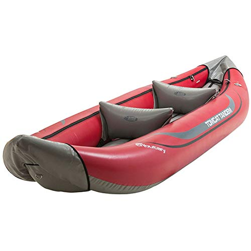 AIRE Tributary Tomcat Tandem Inflatable Kayak-Red