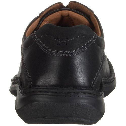 Josef Seibel Schuhfabrik GmbH Anvers 08 43360 41 600 - Zapatos de cordones de cuero para hombre Negro