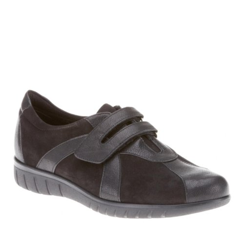 Munro Mujeres Jewel Black Leather Oxford - 7.5 M