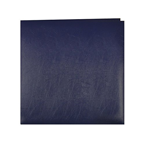 pioneer-photo-albums-mb-50-nb-50-page-post-bound-bonded-leather-scrapbook-for-12-x-12-pages-navy-blu