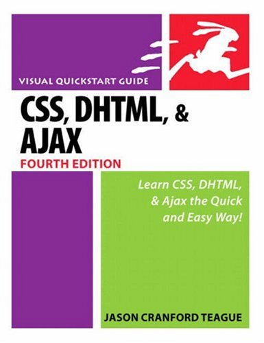 Download CSS, DHTML, and Ajax, Fourth Edition ebook