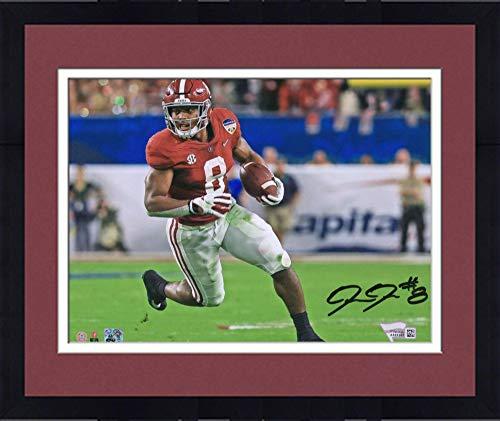 Framed Josh Jacobs Alabama Crimson Tide Autographed 8