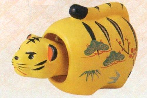 Luck papier-mache tiger ( swing ) Large