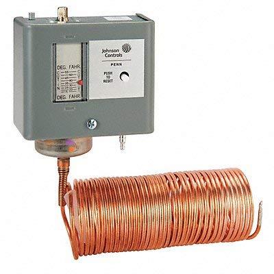 Manual Reset Johnson Controls - Johnson Controls A40FA-1C Temperature Actuated Pneumatic Switch, Drop, Manual Reset, 1/8