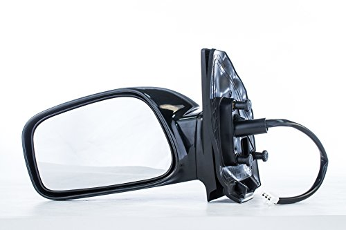 Driver Mirror for Toyota Corolla CE (2003 2004 2005 2006 2007 2008) Side Smooth Black Non-Heated Non-Folding Left Outside Rear View Replacement Door Mirror (Toyota Corolla Mirror Oem Door)