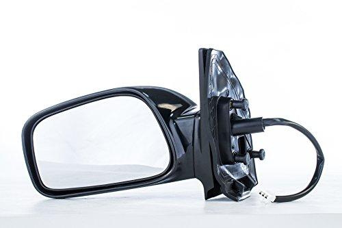 Driver Mirror for Toyota Corolla CE (2003 2004 2005 2006 2007 2008) Side Smooth Black Non-Heated Non-Folding Left Outside Rear View Replacement Door Mirror (Door Mirror Toyota Oem Corolla)