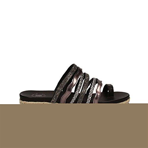 Exe Sandales E41005127001 Noir Femmes 39 AZUAP