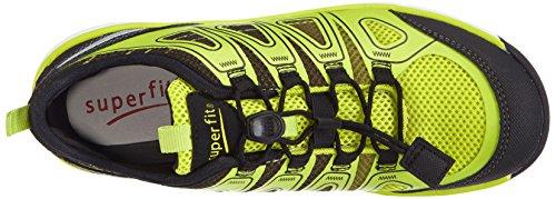 Superfit LUMIS - zapatilla deportiva de lona niño amarillo - Gelb (SCHWARZ MULTI 03)
