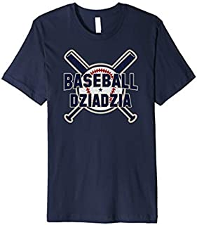 [Featured] Baseball Dziadzia Softball Papa Father's Day Gift Grandpa Premium in ALL styles | Size S - 5XL