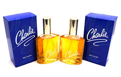 Vintage Old Version Charlie Perfume For Women EDT Spray Cologne Pack Of 2x3.5 oz (Charlie Pack)