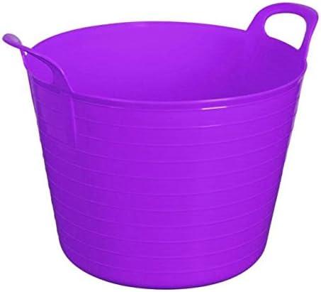 Storage KING Flexi - Cubo de Basura para jardín, 45 l, Color Morado, 2 Unidades: Amazon.es: Hogar