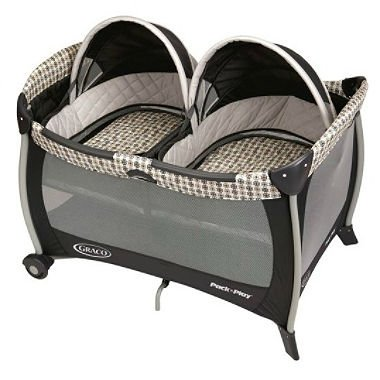 (Graco Pack 'n Play Playard with Twins Bassinet - Vance)