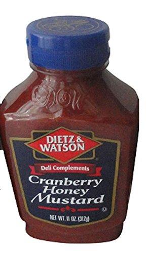 Dietz & Watson Deli Complements Cranberry Honey Mustard (1 Bottle)