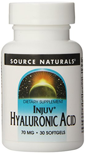 Source Naturals Hyaluronic Acid, 70mg, 30 Softgels (Pack of 12) by Source Naturals
