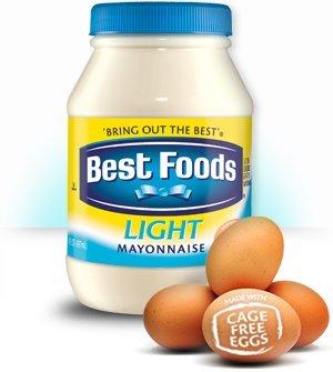 Best Foods, Light Mayonaise, 15oz Plastic Jars (Pack of (Best Foods Light Mayonnaise)