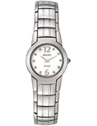 Seiko Womens SUJ281 Vivace Diamond Accented Watch