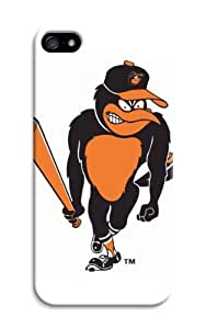D-PINK(TM)Comely Baseball iPhone 6/6S Case-Baltimore Orioles MLB Hard Case Cover Skin for iPhone 6/6S