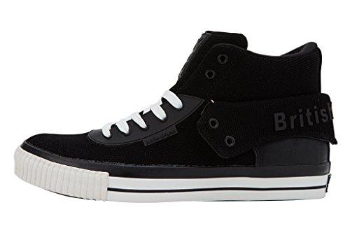 British Knights Roco Men's High-Top Sneaker Black R0IRwdpk