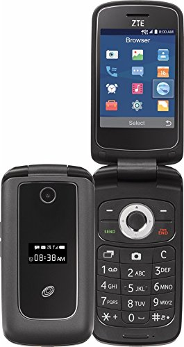 TracFone Z233 Flip Prepaid Carrier Locked - 2.8inch Screen - 512GB - Black (U.S. Warranty)