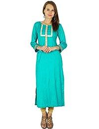 Phagun Indian Designer Bollywood Kurta Women Ethnic Kurti Casual Tunic Dress