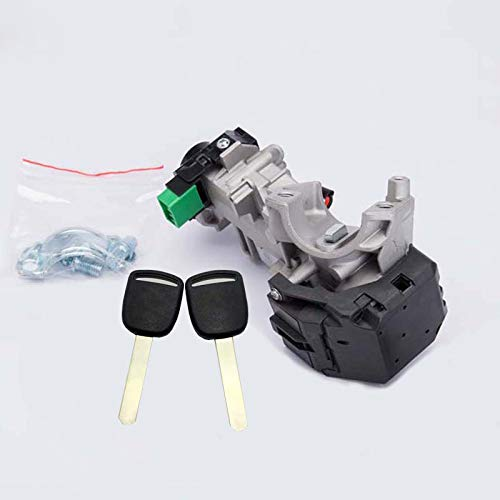 Ignition Switch Lock Cylinder For Honda Accord Civic CRV Fit 2003-2007 Auto Trans With 48 Chip ()