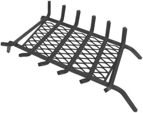 Landmann Usa 97306 1 2 Steel Fireplace Grate With Ember Retainer