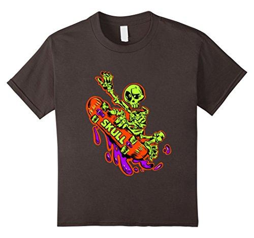 Kids Skate Skateboard Shirt Skateboarder T-Shirt Gift 10 Asphalt