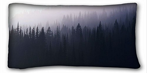 Custom ( Nature Forests forest mist Nature Forests ) Pillowcase Standard Size 20