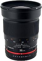 Rokinon RK35M-FX 35mm F1.4 Aspherical Lens for Fujifilm X-Mount Cameras