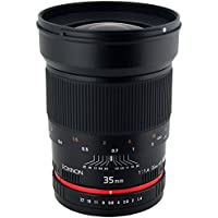 Rokinon RK35M-FX 35mm F1.4 Aspherical Lens for Fujifilm X-Mount Cameras