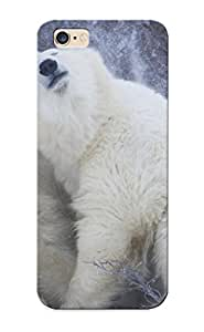 Ideal Inthebeauty Case Cover For Iphone 6 Plus(polar Bears Winter Snow Flakes Blizzard ), Protective Stylish Case