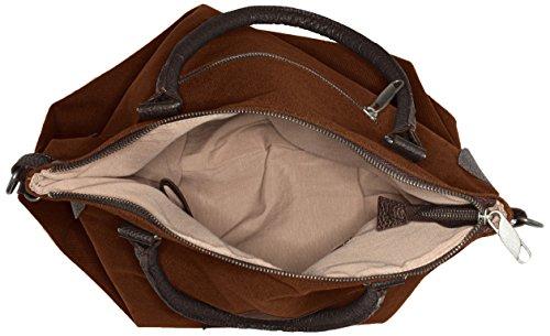 Marrone F3151 Bags4less A Borsa Tracolla Donna braun wrvnvxq