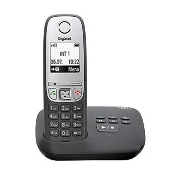 Festnetztelefone & Zubehör Gigaset A 415 A Duo Schnurloses Telefon Freisprechfunktion Schwarz Silber
