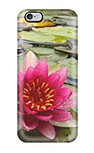 Iphone Case - Tpu Case Protective For Iphone 6 Plus- Water Lilies