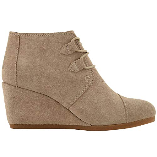 TOMS Desert Suede Women's Kala Botie 10012956 (Size: 7.5) (Womens Platform Wedge Shoes)