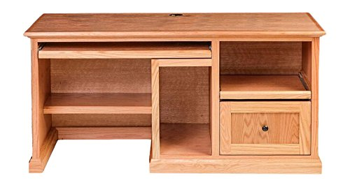 Forest Designs FD-1062- MR - 1015-MA Mission Desk and Hutch, 56