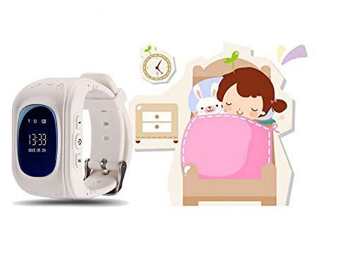 Rastreador Niños GPS Reloj Smartwatch Niños Relojes Inteligentes Niños Español Soporte GPS + LBS de Doble Posicionamiento para Evitar que Los Niños Pierdan.