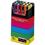 3Pacs X Uni Posca Paint Marker Pen - Fine Point - 15 Colors - PC-3M15C
