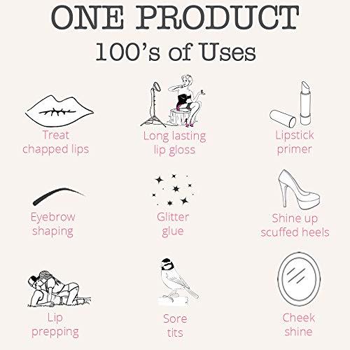 Dr. Lipp's Original Lanolin Nipple Balm & Lip Cream - Natural Moisturizer for Dry Chapped Lips, Nursing or Breastfeeding, Diaper Rash, Eyelashes, Sore Nose & So Much More (15 ml) - 6 Pack by Dr. Lipp (Image #7)