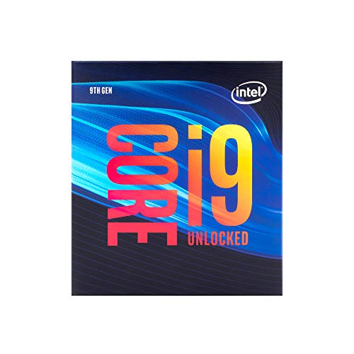 Intel Core i9-9900K Desktop-Prozessor 8 Kerne bis zu 5,0 GHz, entsperrt, LGA1151 300 Serie, 95 W (BX806849900K)