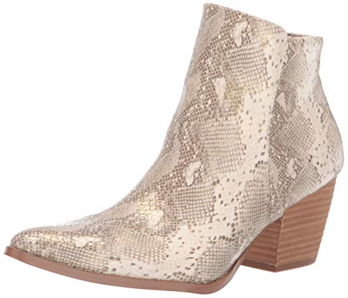 Coconuts by Matisse Women's Astoria Ankle Boot, Natural, 9 M M ()