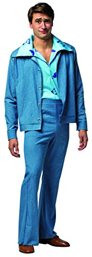Leisure Suits 1970s (Rasta Imposta Men's NLCV Cousin Eddie Leisure Suit, Blue, One Size)