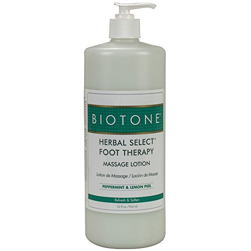 Herbal Foot Cream - Biotone Herbal Foot Massage Lotion, 32 Ounce