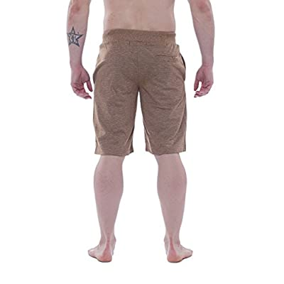 Alki'i Men's Light Weight Comfort Terry Shorts with Pockets 7106 at Amazon Men's Clothing store