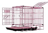 Pet Tek DPK86011 Dream Crate Professional Series 100 Dog Crate with Mesh Floor, 19 by 12 by 15-Inch, Pink Review